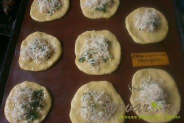 Булочки с сыром и зеленью Шаг 9 (картинка)