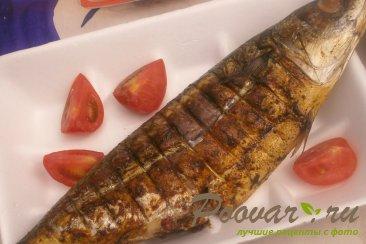 Рыба на мангале Изображение