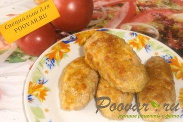 Колбаски куриные с кукурузными хлопьями Изображение