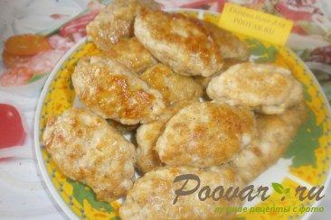Колбаски куриные с кукурузными хлопьями Шаг 8 (картинка)