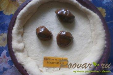 Пирог с малиной и сгущёнкой Шаг 5 (картинка)