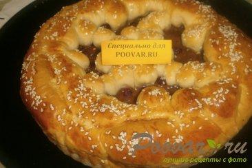 Пирог с малиной и сгущёнкой Шаг 12 (картинка)