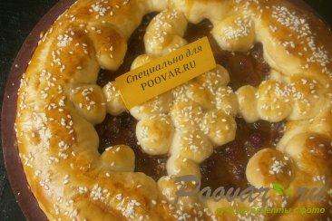 Пирог с малиной и сгущёнкой Шаг 11 (картинка)