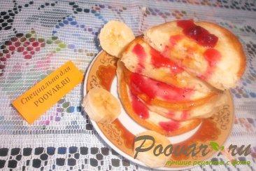 Оладьи с бананом Шаг 10 (картинка)