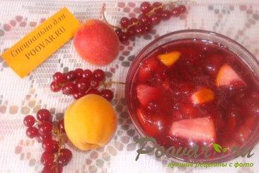 Варенье из красной смородины с фруктами Изображение