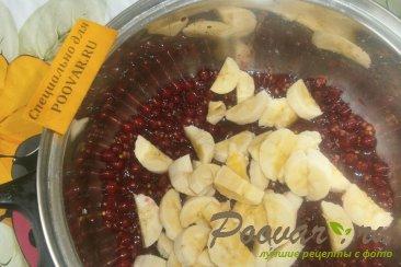 Варенье из красной смородины с фруктами Шаг 7 (картинка)