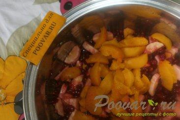 Варенье из красной смородины с фруктами Шаг 9 (картинка)