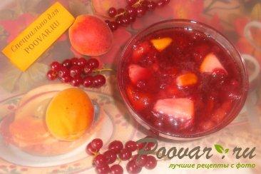 Варенье из красной смородины с фруктами Шаг 16 (картинка)