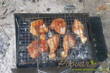 Курица с кетчупом на мангале Шаг 7 (картинка)