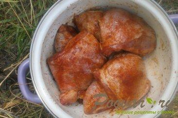 Курица с кетчупом на мангале Шаг 5 (картинка)