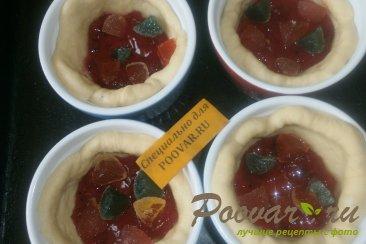 Пироги с вареньем и мармеладом Шаг 9 (картинка)