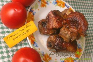Свиные рёбрышки с красной смородиной Шаг 10 (картинка)