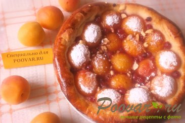 Пирог с абрикосом и смородиной Изображение
