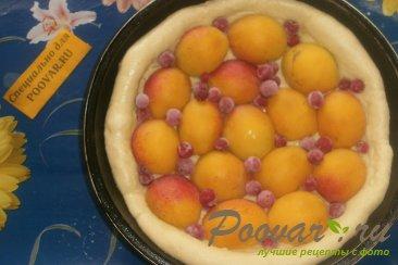 Пирог с абрикосом и смородиной Шаг 5 (картинка)