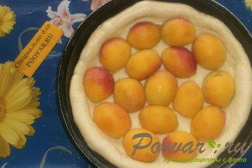 Пирог с абрикосом и смородиной Шаг 4 (картинка)
