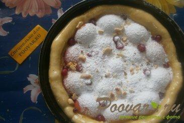 Пирог с абрикосом и смородиной Шаг 6 (картинка)