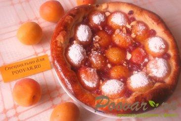 Пирог с абрикосом и смородиной Шаг 8 (картинка)