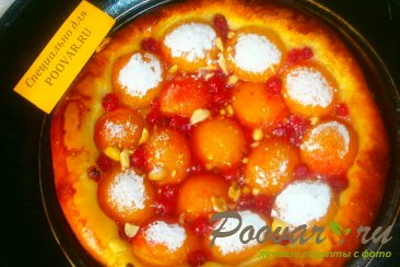 Пирог с абрикосом и смородиной Шаг 7 (картинка)