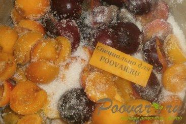 Варенье из слив и абрикос Шаг 4 (картинка)
