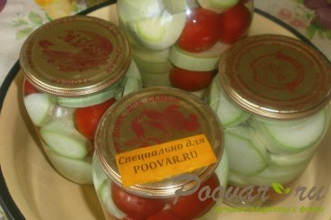 Маринованные кабачки с помидорами Шаг 7 (картинка)