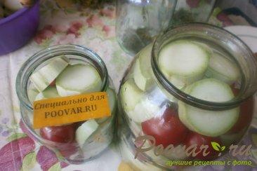 Маринованные кабачки с помидорами Шаг 6 (картинка)