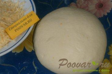Рулет из сырного теста со сладкой начинкой Шаг 2 (картинка)