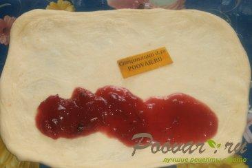 Рулет из сырного теста со сладкой начинкой Шаг 5 (картинка)