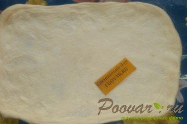 Рулет из сырного теста со сладкой начинкой Шаг 4 (картинка)