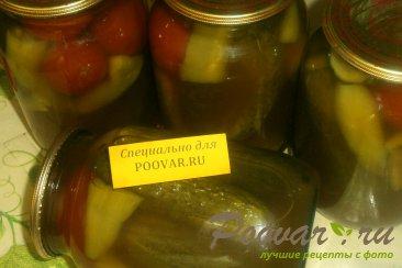 Овощное ассорти с кетчупом чили Изображение