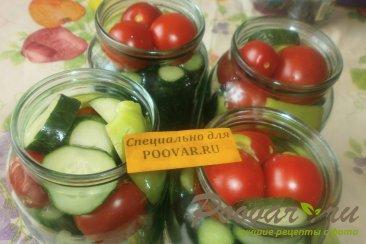 Овощное ассорти с кетчупом чили Шаг 3 (картинка)