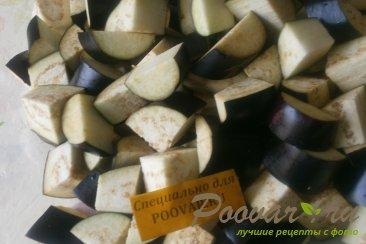 Баклажаны в томатном соке Шаг 2 (картинка)