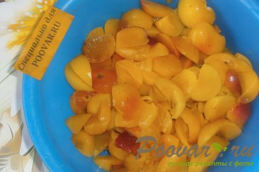 Варенье из алычи с имбирём и ванилью Шаг 2 (картинка)