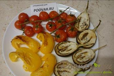 Запеченные овощи в духовке Изображение