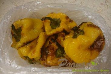 Перец запеченный в духовке в чесночном маринаде Шаг 2 (картинка)