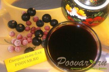 Варенье-желе из чёрной смородины с корицей Изображение