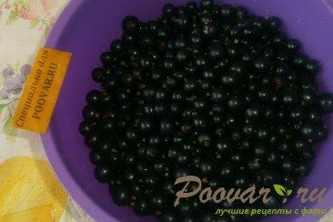 Варенье-желе из чёрной смородины с корицей Шаг 3 (картинка)
