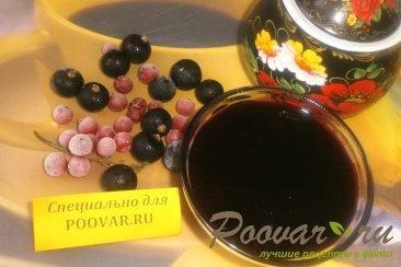 Варенье-желе из чёрной смородины с корицей Шаг 10 (картинка)
