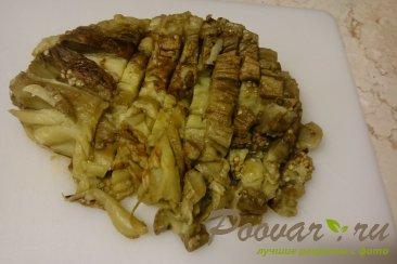 Запеченные баклажаны с грецкими орехами и чесноком Шаг 7 (картинка)