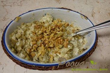Запеченные баклажаны с грецкими орехами и чесноком Шаг 9 (картинка)