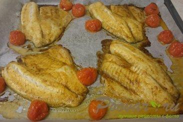Рыба запеченная в духовке с помидорами Шаг 4 (картинка)
