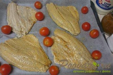 Рыба запеченная в духовке с помидорами Шаг 3 (картинка)