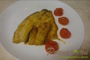 Рыба запеченная в духовке с помидорами Шаг 5 (картинка)