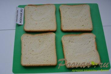 Горячие бутерброды с сыром и колбасой Шаг 1 (картинка)