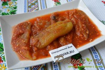 Запеченный перец в томатно-чесночном соусе Изображение