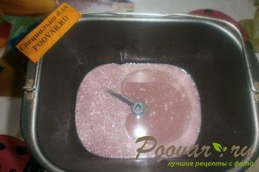 Тесто с соком смородины Шаг 1 (картинка)