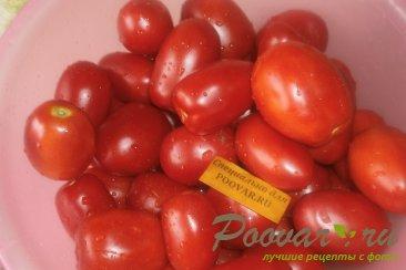 Cушка помидор в духовке Шаг 2 (картинка)