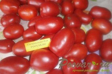 Cушка помидор в духовке Шаг 1 (картинка)
