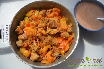 Свинина в томатно-сметанном соусе Шаг 8 (картинка)