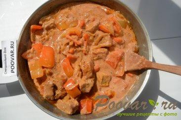 Свинина в томатно-сметанном соусе Шаг 9 (картинка)