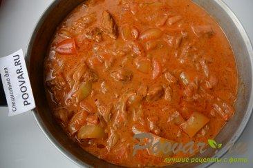 Свинина в томатно-сметанном соусе Шаг 10 (картинка)